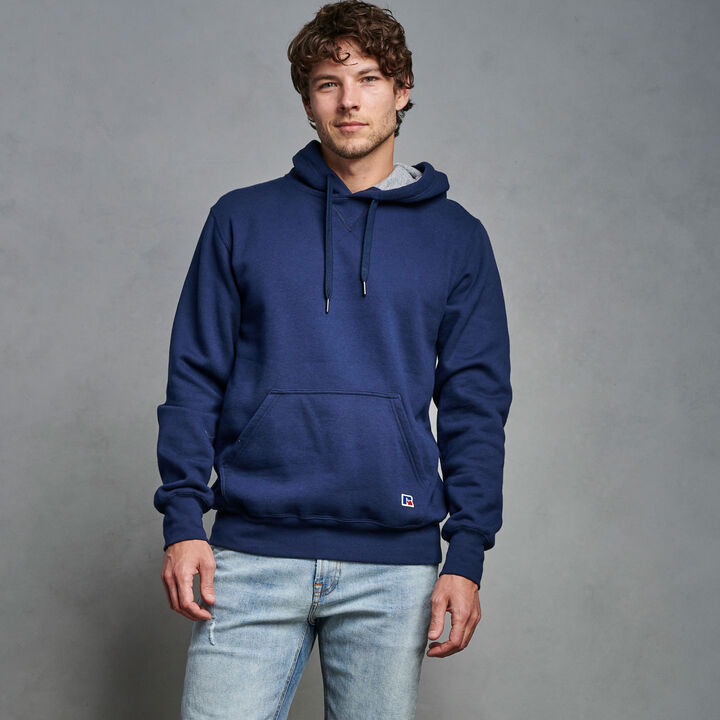 Men's Cotton Classic Fleece Hoodie Navy