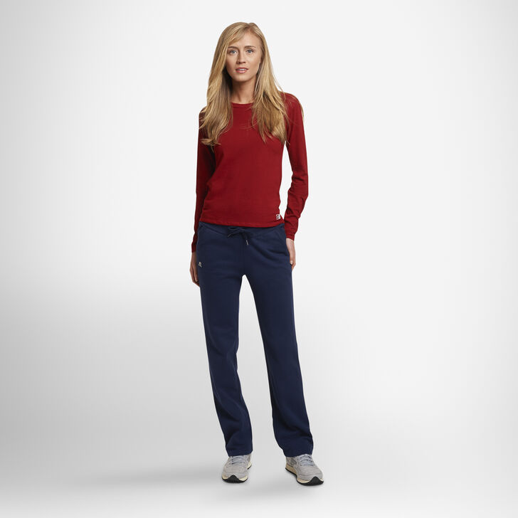 Women's Lightweight Fleece Sweatpants NAVY