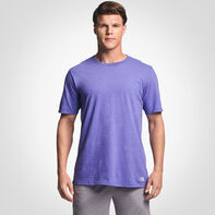 Men's Cotton Performance T-Shirt RETRO HEATHER PURPLE