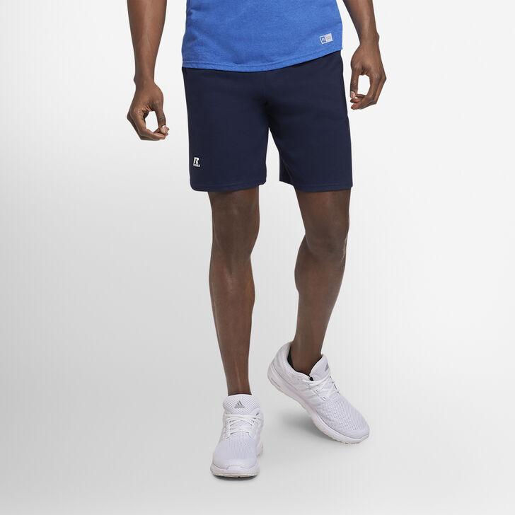 Men's Basic Cotton Pocket Shorts Navy