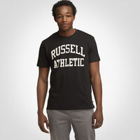 Russell Athletic Iconic Arch T-Shirt BLACK