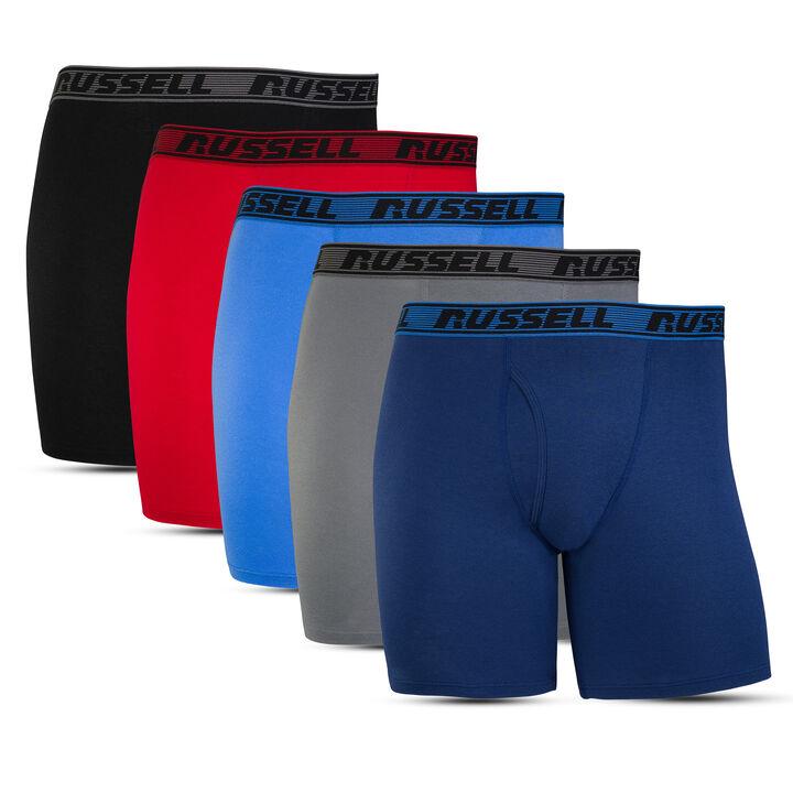 Men's Comfort Boxer Briefs (5 Pack)