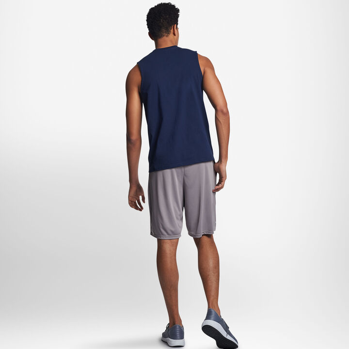 Men's Cotton Performance Muscle NAVY