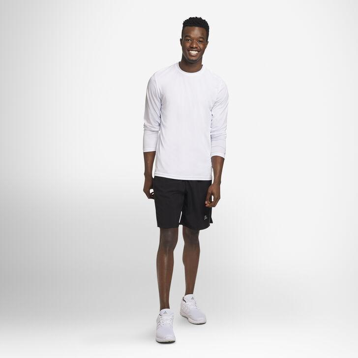 Men's Dri-Power® Performance Long Sleeve T-Shirt WHITE