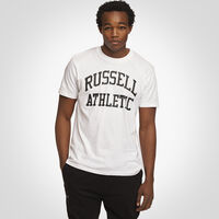Men's Heritage Arch Graphic T-Shirt WHITE