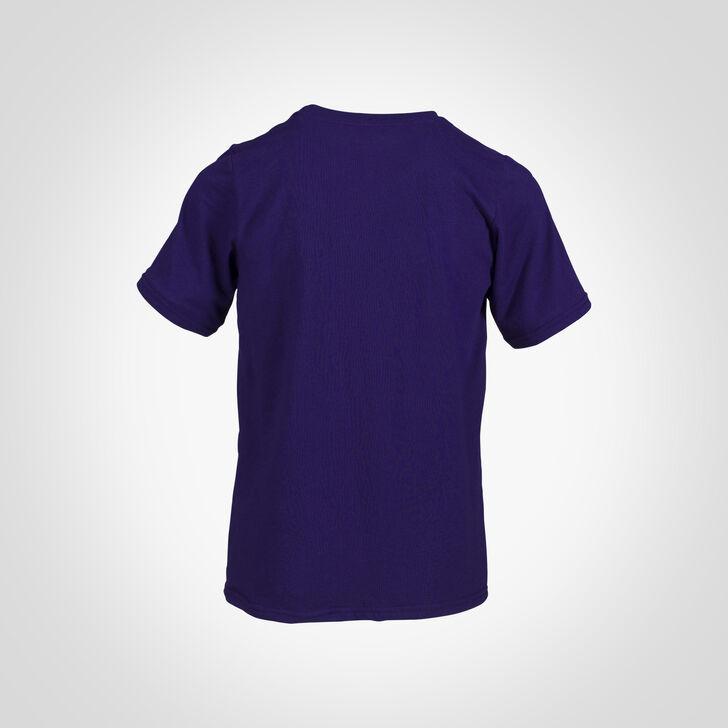 Youth Cotton Performance T-Shirt PURPLE