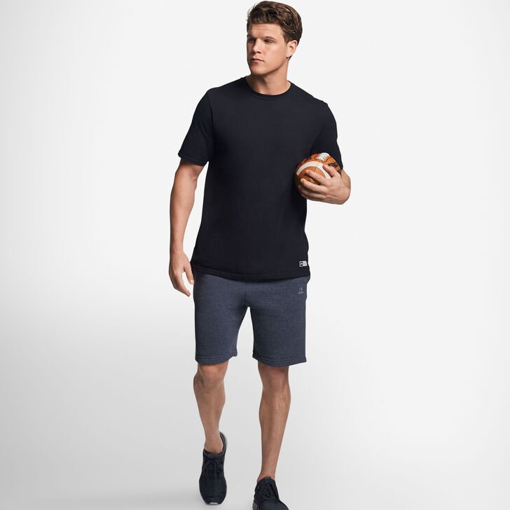 Men's Cotton Performance T-Shirt BLACK