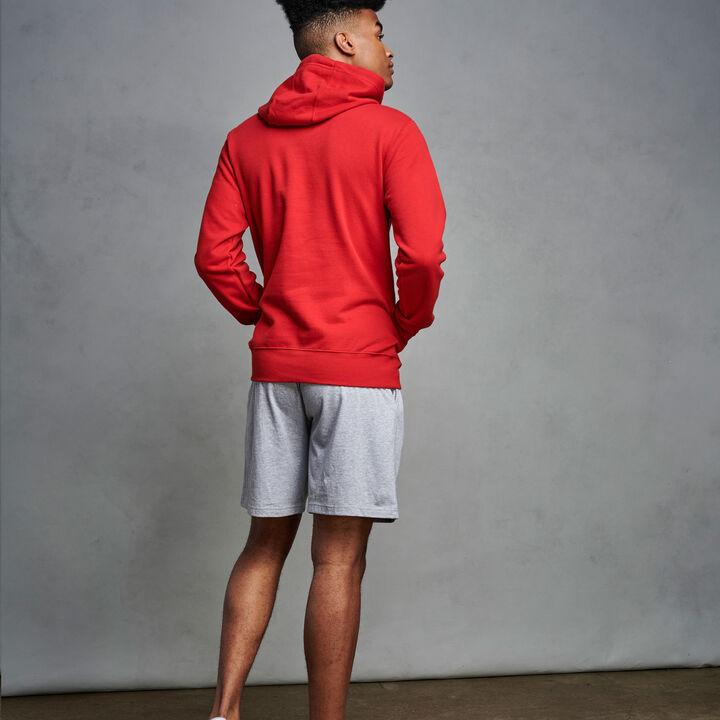 Men's Cotton Rich 2.0 Premium Fleece Hoodie True Red
