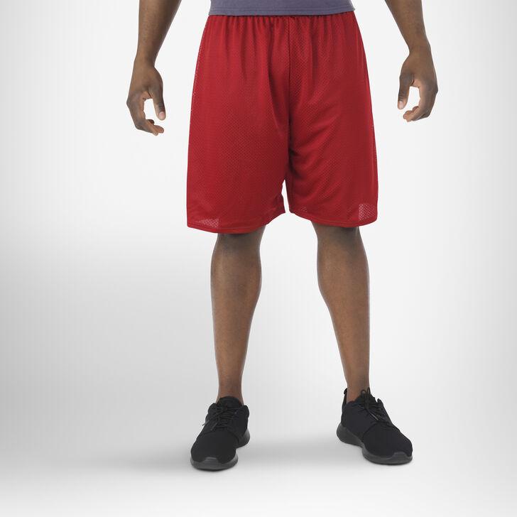 Men's Dri-Power® Mesh Shorts (No Pockets) Cardinal