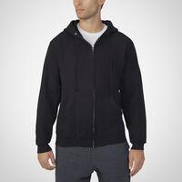 Men's Dri-Power® Fleece Full-Zip Hoodie BLACK