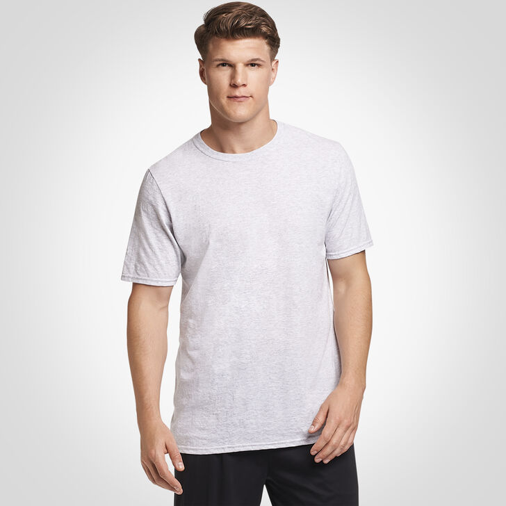 Men's Cotton Performance Tee ASH
