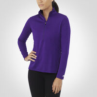 Women's Dri-Power® Lightweight 1/4 Zip Pullover PURPLE