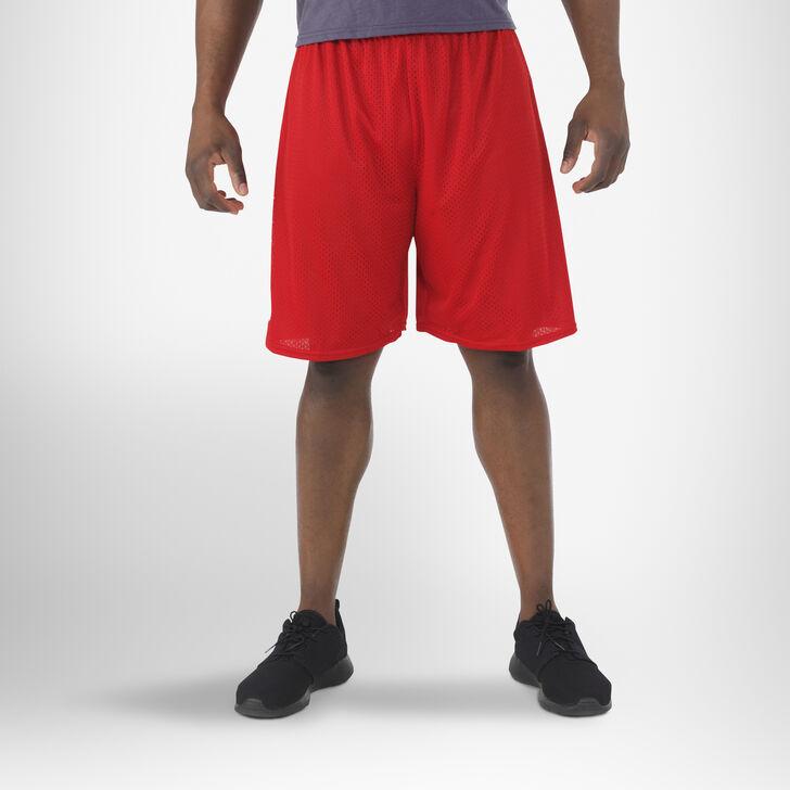 Men's Dri-Power® Mesh Shorts (No Pockets) TRUE RED