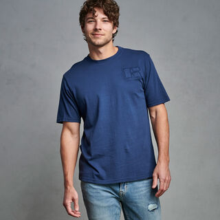 Men's Heritage Garment Dyed T-Shirt NAVY