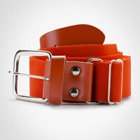 Adult Adjustable Baseball/Softball Belt BURNT ORANGE
