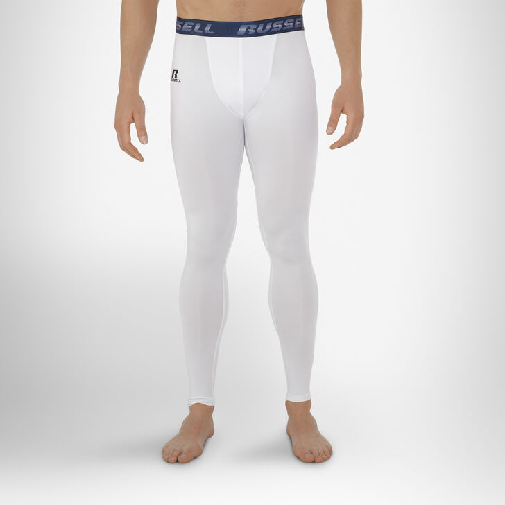 Men's Dri-Power® Compression Tights WHITE
