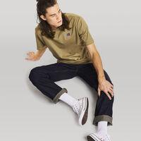 Men's Heritage Heavyweight Baseliner T-Shirt DRY GRASS