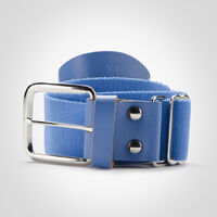 Adult Adjustable Baseball/Softball Belt COLUMBIA BLUE