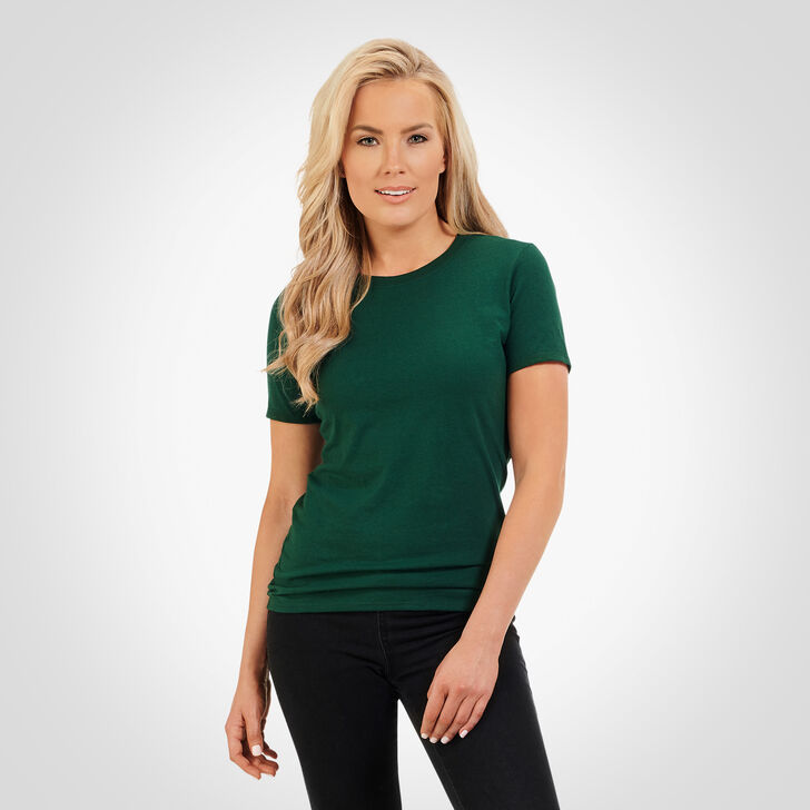 Women's Essential Tee DARK GREEN