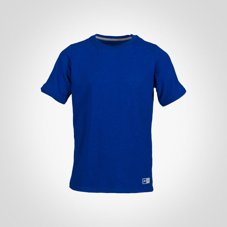 Youth Cotton Performance Tee ROYAL