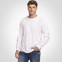 Men's Essential Long Sleeve Tee WHITE