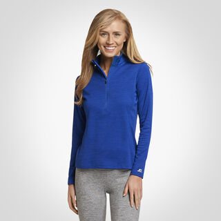 Women's Dri-Power® Lightweight Performance 1/4 Zip ROYAL