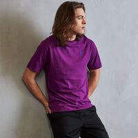 Men's Heritage Baseliner T-Shirt GRAPE