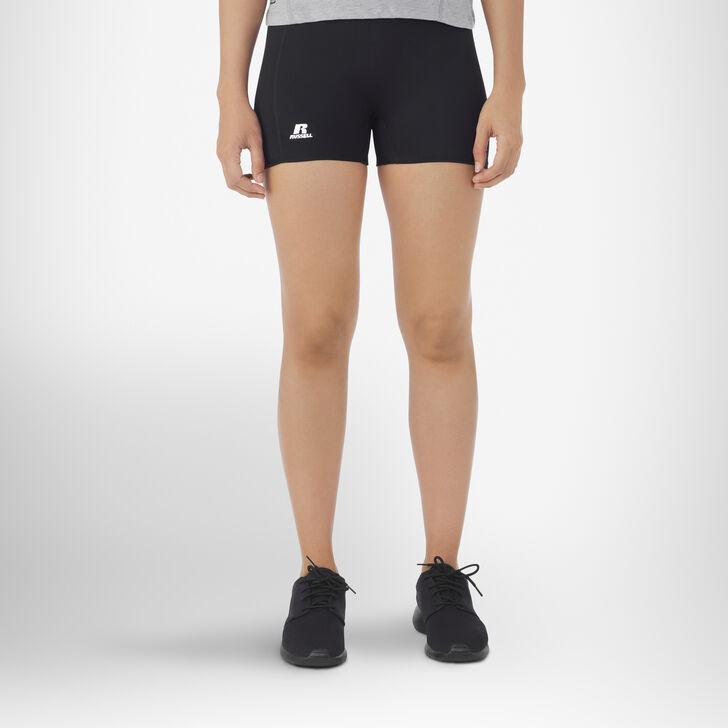 "Women's 3"" Low Rise Tight Shorts BLACK"