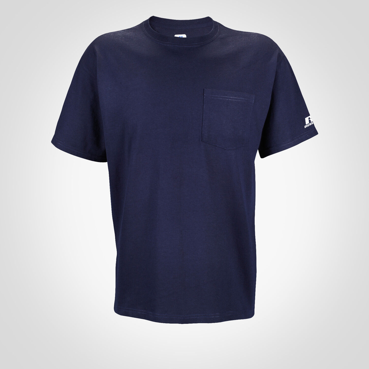 47923c4120e Men's Basic Cotton Pocket Tee - Russell US | Russell Athletic