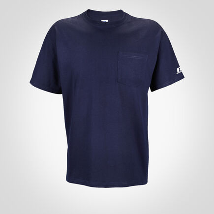 Men's Basic Cotton Pocket Tee J.NAVY