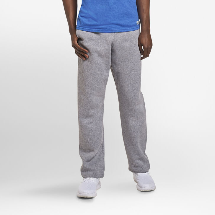 Men's Dri-Power® Open-Bottom Sweatpants with Pockets Oxford