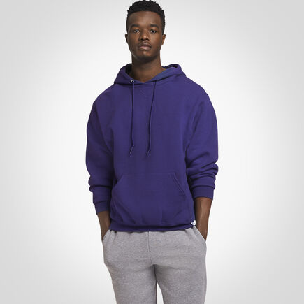 Men's Dri-Power® Fleece Hoodie PURPLE