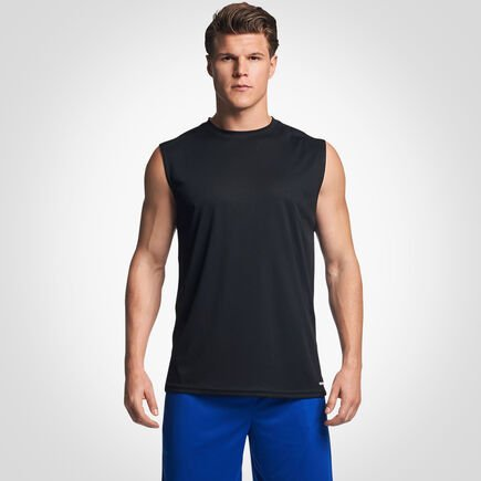 Men's Dri-Power® Mesh Performance Muscle Black