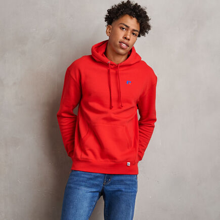 Men's Heritage Fleece Hoodie TRUE RED