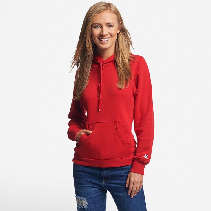 Women's Fleece Hoodie TRUE RED