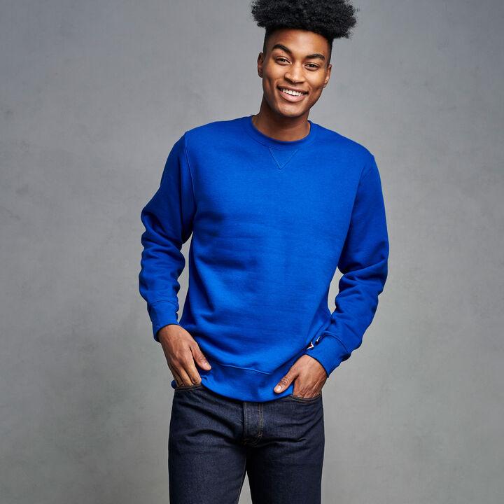 Men's Cotton Rich 2.0 Premium Fleece Sweatshirt Royal