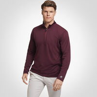 Men's Dri-Power® Lightweight Performance 1/4 Zip MAROON