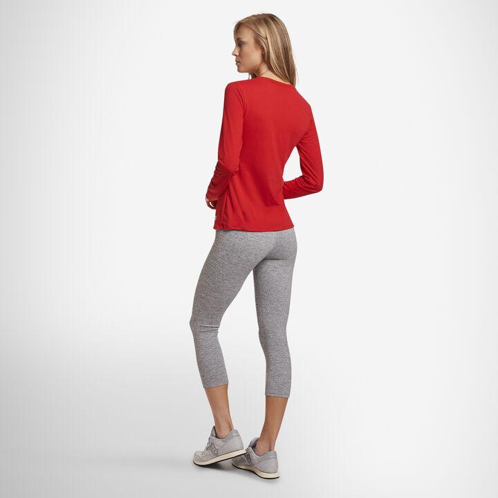 Women's Cotton Performance Long Sleeve T-Shirt True Red