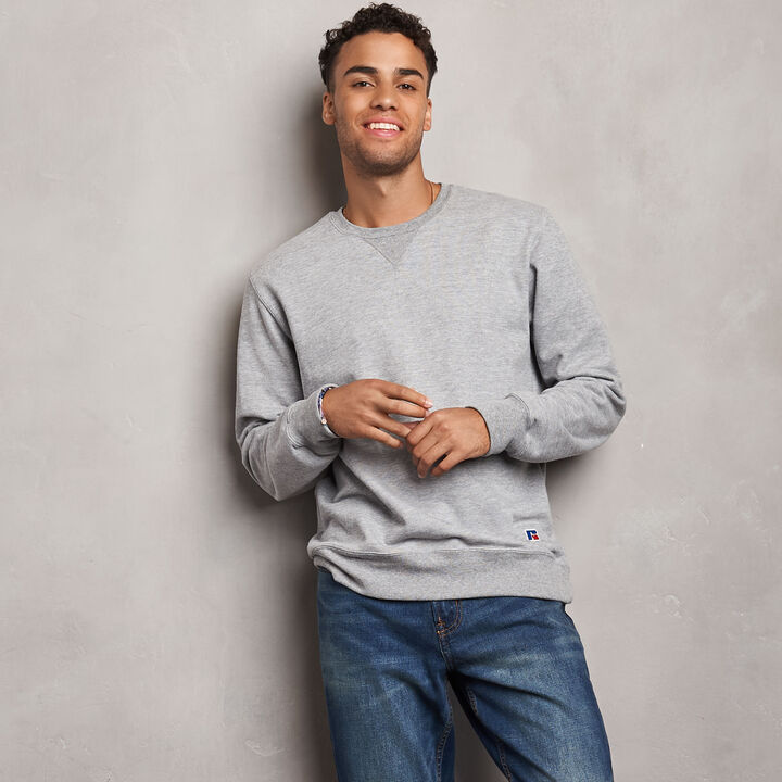 Men's Cotton Classic Fleece Crew Sweatshirt OXFORD