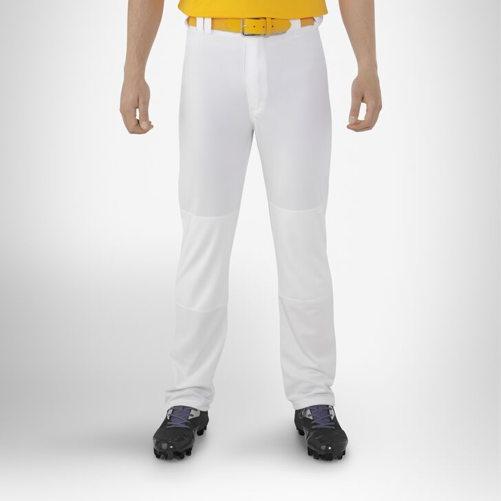 Men's Bootcut Baseball Pants WHITE
