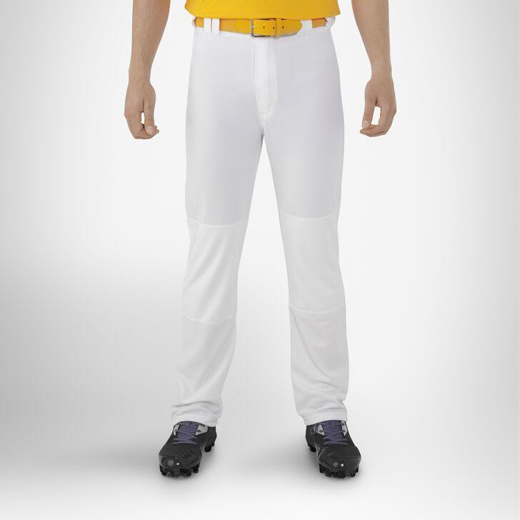 Men's Bootcut Baseball Pants WHITE