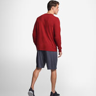 Men's Cotton Performance Long Sleeve T-Shirt CARDINAL
