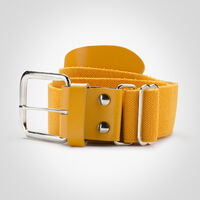 Adult Adjustable Baseball/Softball Belt GOLD