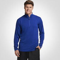 Men's Dri-Power® Lightweight 1/4 Zip Pullover ROYAL