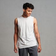 Men's Cotton Performance Muscle White