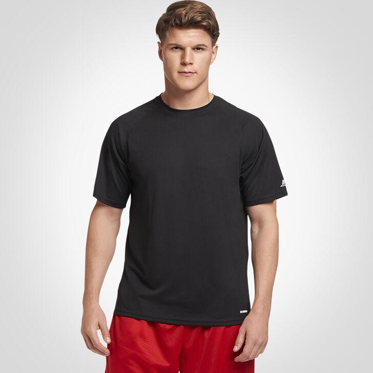 Men's Dri-Power® Mesh Short Sleeve Tee BLACK