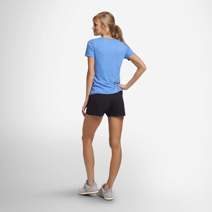 Women's Cotton Performance Active Shorts BLACK