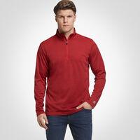 Men's Dri-Power® Lightweight 1/4 Zip Pullover TRUE RED