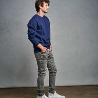 Men's Cotton Rich 2.0 Premium Fleece Sweatshirt Navy