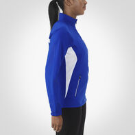 Women's Woven Warm Up Jacket ROYAL/WHITE